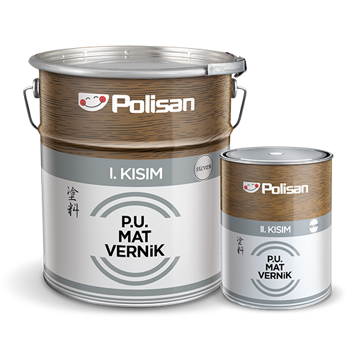 Polyurethane Matt Varnish Silver