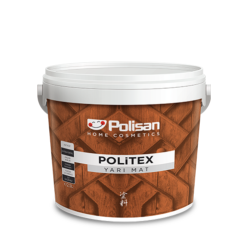 Politex Decorative - Semi-Matt Water-Based