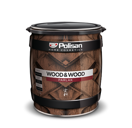Wood&Wood Anti Aging Ahşap Verniği Parlak Solvent  Bazlı