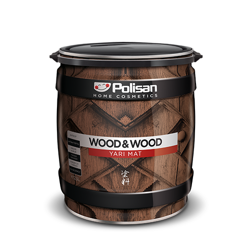 Wood&Wood Anti Aging Wood Varnish – Semi-Matt, Solvent-Based