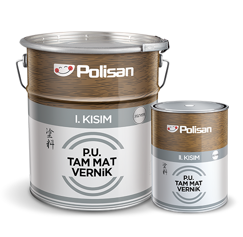 Polyurethane Full Matt Varnish Silver