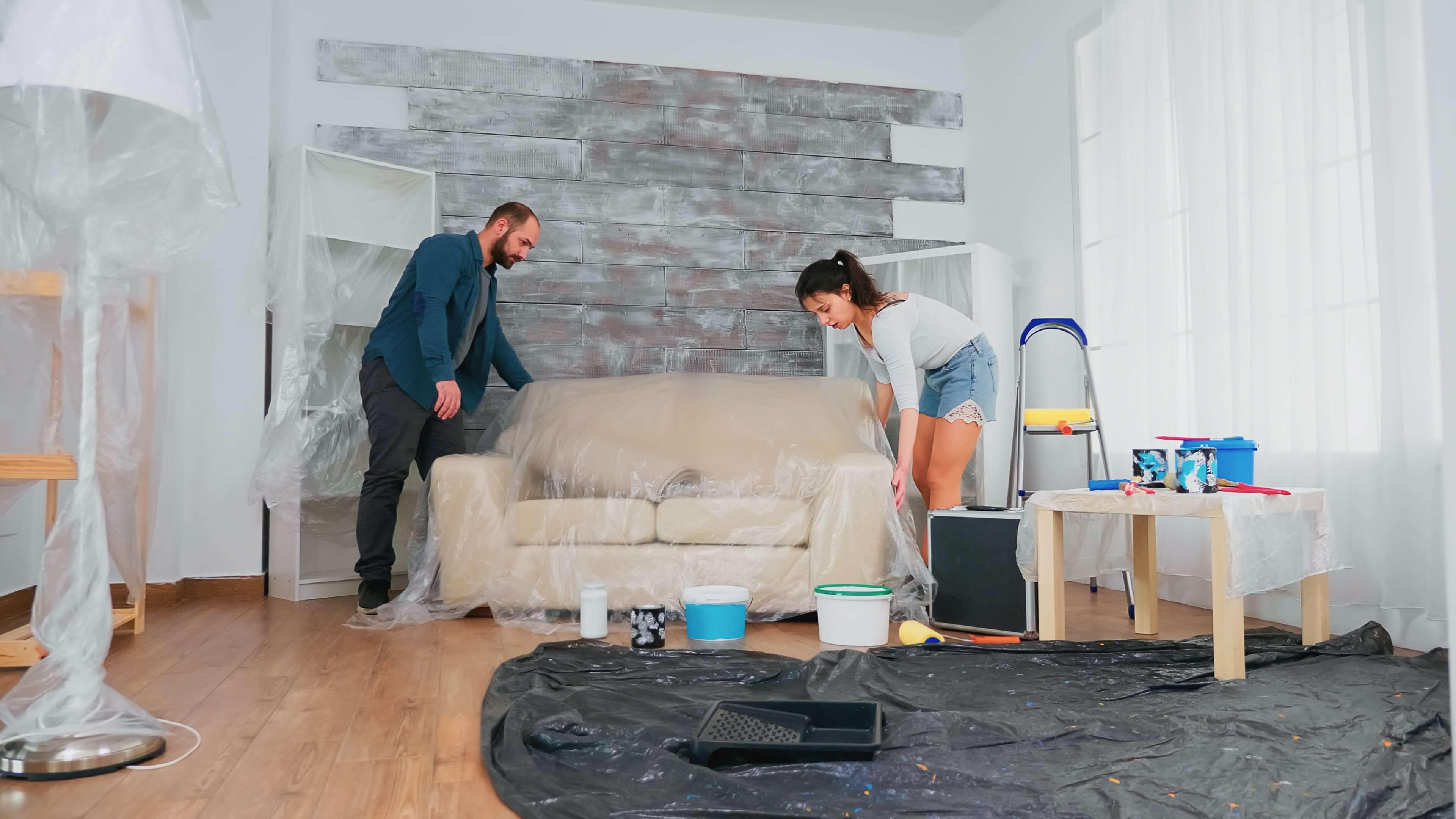 Ev boyama sonrası temizlik nasıl yapılır?