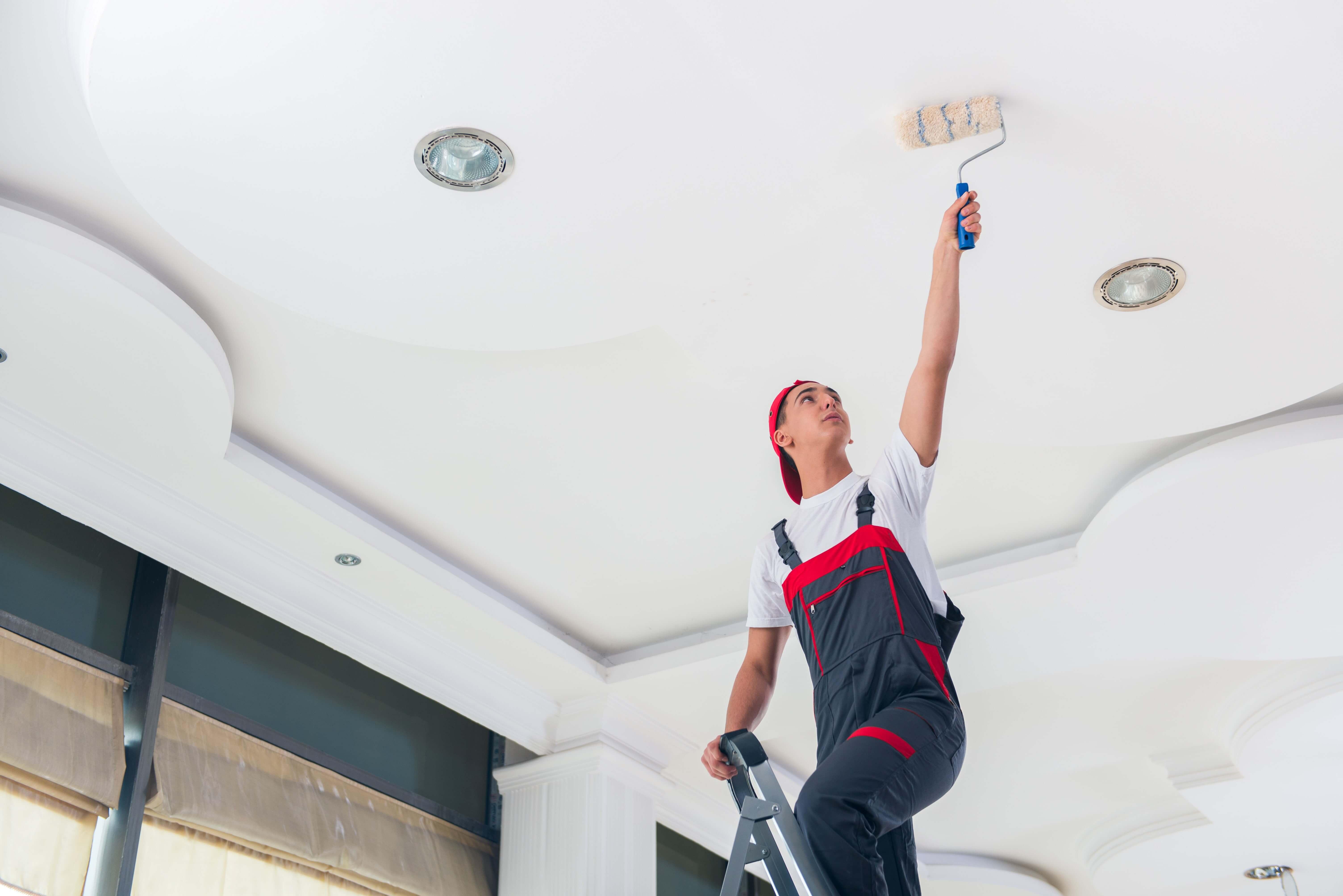 Tavan boyası nasıl yapılır?